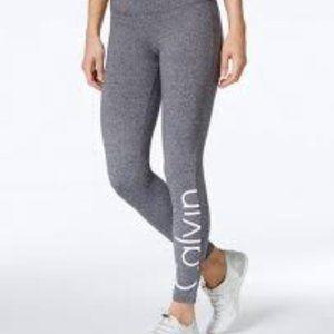 Grey Calvin Klein Leggings Size Medium